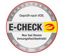 Geprüfter E-Check Fachbetrieb