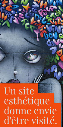 Un site esthétique donne envie d'être visité