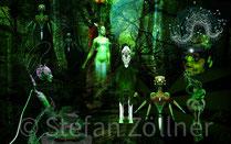Stefan Zöllner: abyssal-forest-spirit, 2014