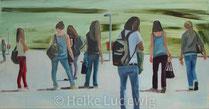 Heike Ludewig: Warten, 2012