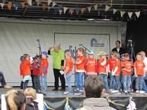 Auftritt beim Kinderfest des Zweckverbandes