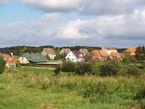 Blick auf Plüschow