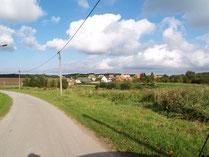 Straße in Plüschow