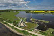 Mühle Charlotte, das Wahrzeichen der Birk