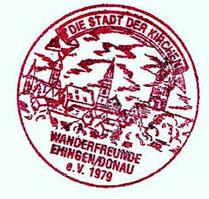 Vereinstempel der WF Ehingen