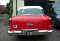 Heck des 1955er Oldsmobile