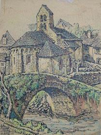 Eglide d'Ourjout Ariège 1940 André Aaron Bilis