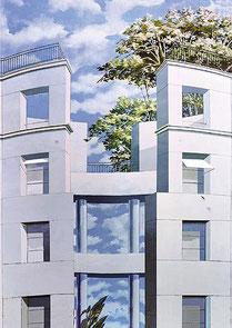 Projekte 2000-2009 - Fassadenmalerei Friedrichstr.