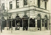 Ca. 1920 Verkaufsgeschäft an der Bahnhofstrasse 27