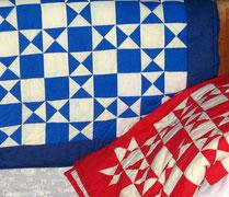 Patchwork-Decken Ohio Star für meine Kinder