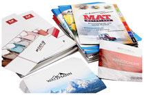 Kataloge, Flyer, Anzeigen, Fotografik Pfeifle
