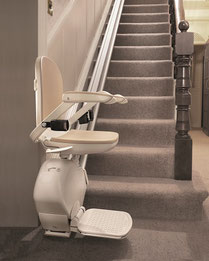 Salzland Treppenlift für gerade Treppe, schmale Treppe, steile Treppe