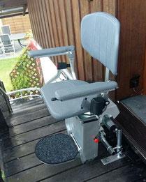 Treppenlift für Außen, Außenbereich in Gerbstedt