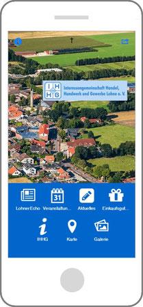 Vorschaubild der App auf dem Handy