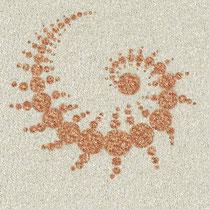 Gartenmalerei.de  - Kunst für den Garten, Blume des Lebens, Mandalas, Symbole, Zeichen, Logos - Bilder in den Garten, aus Carrara Marmorsplitt, Granitsplitt, Basaltsplitt,  Alternative zu Wiesengrün