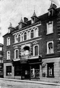 dudweiler, saarbruecken, café strohfus, sudstrasse, 1910