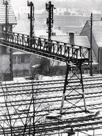 dudweiler, eisenbahn, stellwerk