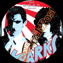 sparks poster, russell mael, ron mael, martin gordon, earle mankey, tammy glover, james mankey, adrian fisher, harley feinstein