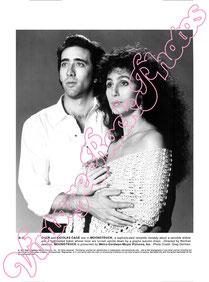 Cher, Stregata dalla luna, Nicolas Cage