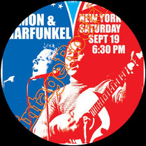 paul simon, art garfunkel , poster