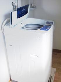 据付洗濯機
