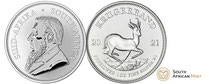 Silber kaufen: Krügerrand  Silbermünze 1 Unze - jetz günstig bei Adelshaus erwerben