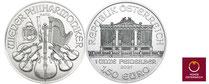 Silber kaufen: Wiener Philharmoniker  Silbermünze 1 Unze - jetz günstig bei Adelshaus erwerben