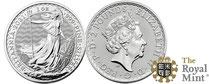 Silber kaufen: Britannia  Silbermünze 1 Unze - jetz günstig bei Adelshaus erwerben