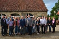 """Etappenziel erreicht: Mit der Feier des Richtfestes des LEADER-Projektes """"Backhaus Darfeld"""" ist ein wichtiger Schritt erreicht. Fotos: Martina Hegemann"""