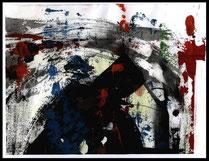 Akryl auf Papier, 2003