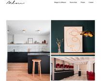 Création du site internet de l'architecte Margot le Métayer