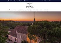 Création du nouveau site ecommerce du Château Fayolle Saussignac