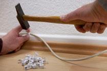 Kabel-Installation und -Verlegung