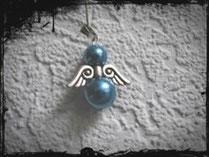 2x Art. 10 blau matt - klein