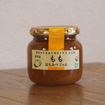 精製蜂蜜,長野産 もも蜂蜜ジャム,はちみつオンライン通販Bee Honeyビーハニー,はなのみ