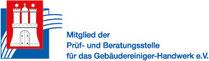 WS Dienstleistungen Mitglied der Prüf- und Beratungsstelle für das Gebäudereiniger-Handwerk e.V.