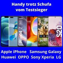 Handyvertrag trotz Schufa Eintrag mit Handy und Allnet Flat  bei 1 & 1 bestellen