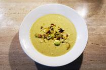 IN FORM, Rezepte, gesund, Suppe, Rosenkohl, Bohnen, Cremesuppe, Gesunde Rezepte, Gesunde Ernährung