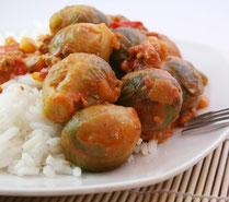 IN FORM, Rezepte, gesund, Rosenkohl, Reis, Eintopf, Chorizo, Wurst, Mittagessen, Abendessen, Mahlzeit, gesunde Rezepte, gesunde Ernährung