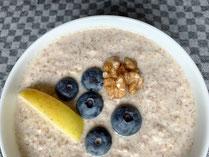 IN FORM, Rezepte, gesund, Buchweizen, Porridge, Frühstück, lecker