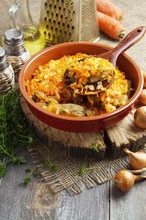 IN FORM, Rezepte, gesund, Gemüse, Fisch, Auflauf, Kabeljau