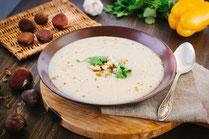 IN FORM, Rezepte, gesund, Maronen, Suppe