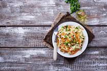 Rezept, IN FORM, gesund, Chinakohl, Möhren, Salat