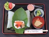 茶の里野菜村 朴葉寿司定食