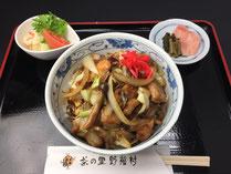 茶の里野菜村 鶏丼