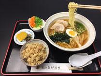 茶の里野菜村 ラーメン定食