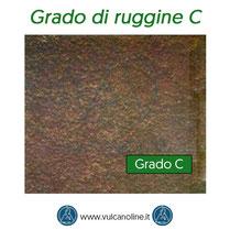 Grado di ruggine C secondo normativa EN ISO 8501