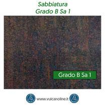 Grado di sabbiatura B Sa 1