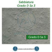 Grado di sabbiatura D Sa 3