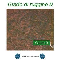 Grado di ruggine D secondo normativa EN ISO 8501